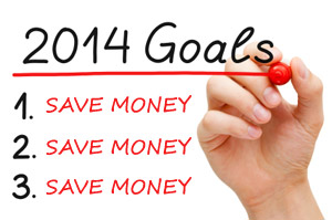 Looking to save money in 2014?