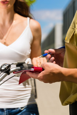 Your Bike and the Law - Tickets, Demerit Points, Accidents & Insurance