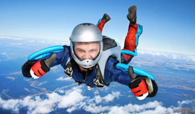 Sky diving, extreme sports and life insurance.